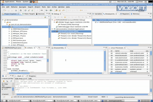 Viosoft Arriba Android Debugging with Eclipse