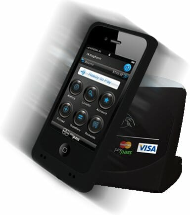 Android Smartphone and iPhone as Visa Mastercard Payment