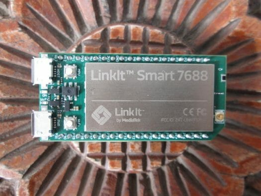 LinkIt Smart 7688 Board (Click to Enlarge)