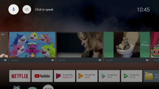 Onenuts Android TV OS