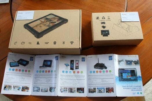GOLE F7 Rugged Tablet & Charging-Dock